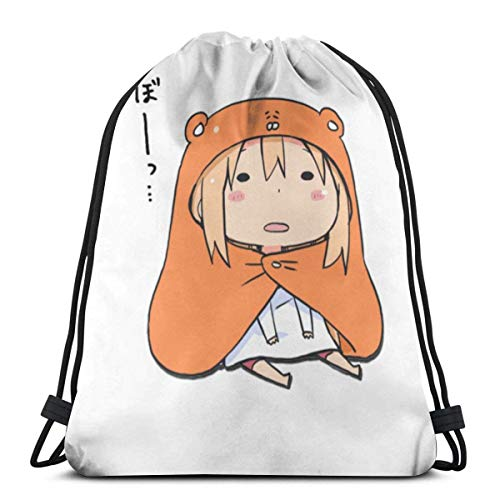 WH-CLA Drawstring Bags Derp.PNG Tri-Blend Gift Cinch Bags Hombres Impresos Anime Dibujos Animados Clásico Único Mujer Estudiante Mochila con Cordón Ligero Durable Bolsa De Fitness Viajes