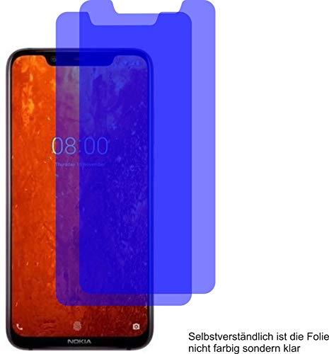 4ProTec I 2X ANTIREFLEX matt Schutzfolie für Nokia 8.1 Bildschirmschutzfolie Displayschutzfolie Schutzhülle Bildschirmschutz Bildschirmfolie Folie