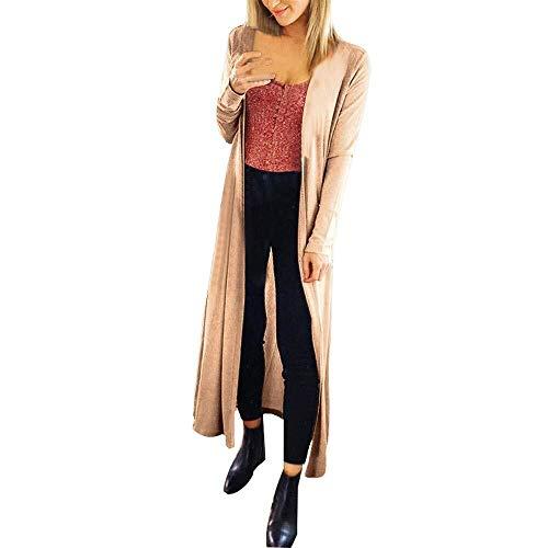 Dames gebreide mantel lang dun meisje breien para's lange wijd slim modieus compleetfit outwear zwart grijs beige fit lente herfst elegant young