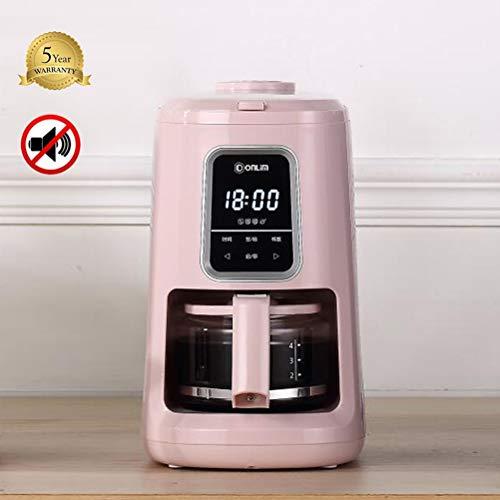 Coffe-MYN Koffiefiltermachine met thermo-timer, met digitale bediening en programmeerbare timer, koffiezetapparaat [lekvrij, thermoskan, roestvrij staal]