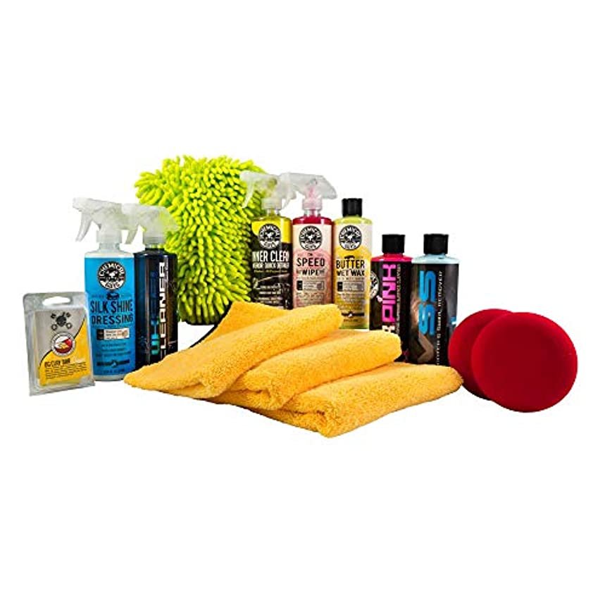 Chemical Guys HOL123 Complete Car Care Kit (14 Items), 112 fl. oz