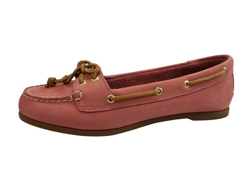 Sperry Top-Sider Women's Audrey,Washed Red Leather,US 5.5 M