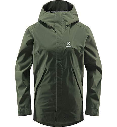 Haglöfs Hardshelljacke Frauen Hardshelljacke Tjärn Jacket Wasserdicht, Winddicht, Atmungsaktiv Fjell Green S S