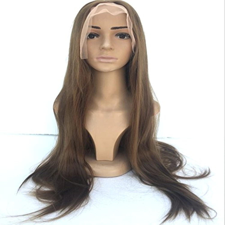 Dunklen Braun Hairstealth Langen Wiged Realistische Hand