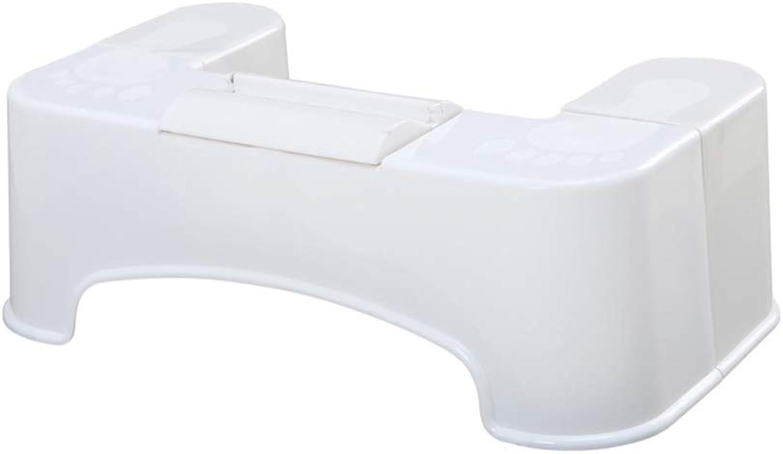 TT&D GBXX Mode Créatif Petit Meubles Anti-Slip Tabouret Accroupi Tabouret De Toilette en Plastique Grande Maison Créative Adulte Multi-Fonction Tabouret Multifonction Ménage Créatif