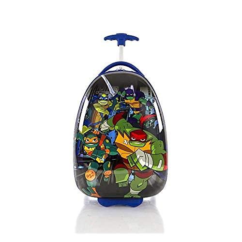 Nickelodeon TMNT Ninja Turtles Boy's 18' Rolling Carry On Luggage
