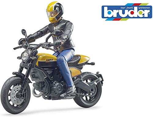 bruder 63053 Bworld Scrambler Ducati Full Throttle