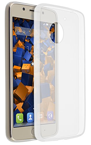mumbi Hülle kompatibel mit Lenovo Moto G5 Handy Case Handyhülle dünn, transparent