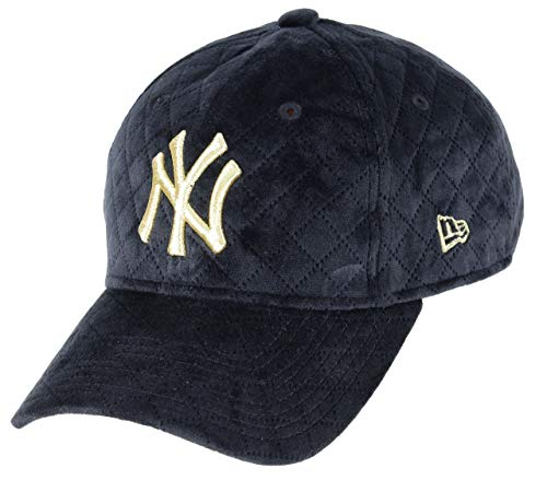 New Era Winter Pack NY Yankees 9Forty Women Cap (one Size, Black/Gold)