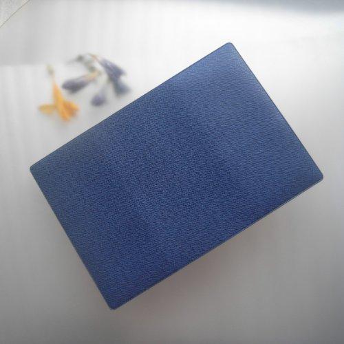 【神戸御影ムーンデザイン きれいな 小物収納ファイル 一覧】 (6324 トカゲ柄ブルー)MBAG