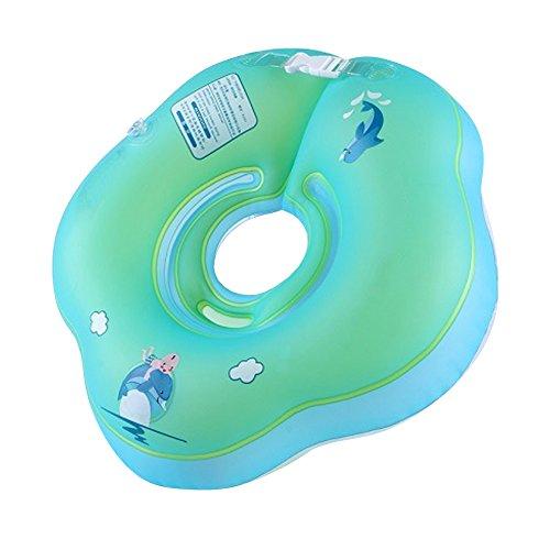 LSERVER-Baby Nuoto Anello Salvagente Regolabile per Bambini Supporto di Collo Bambini nuotano anello Baby galleggiante collare da bagno Baby Float Piscina Neonati