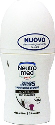 neutromed Deo personne Roll On Invisible 50 ml