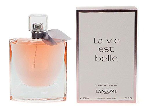 Lancôme La vie est belle l'eau de parfum en flacon vaporisateur 200ml parfum Mesdames