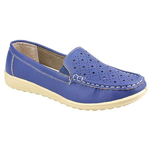 Amblers Cherwell Damen Schuhe (41 EUR) (Blau)