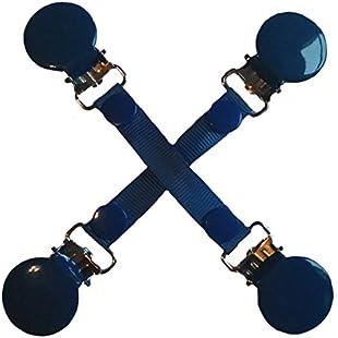 CuteToots Mitten clips/Glove clips for kids & adults! (school blue):Iracematravel