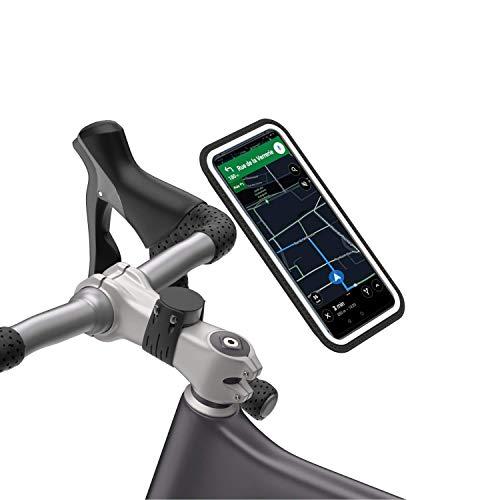 Shapeheart Bike_XXL Support vélo, Noir, Téléphone XL+ jusqu'à 17,2cm