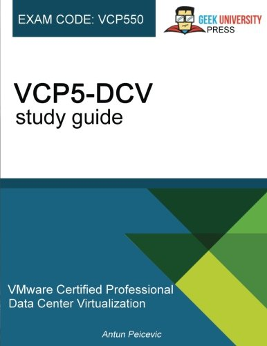 VMware VCP5-DCV study guide