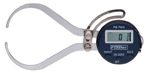 Fowler 54-554-630 Xtra-Value External Electronic Caliper Gage, 0-6' Measuring Range, 0.01' Accuracy