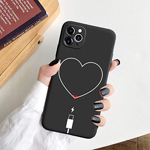 LIUYAWEI Black Funny Art Abstract Phone Case For iPhone 12 11 Pro X XR XS MAX 7 8 6s Plus 5s SE 2020 Case Silicone Statue Soft TPU Cover,14,For iPhone 6 6s