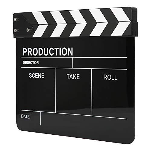 Taidda- Películas Claqueta de Sonido Sonido Claro Sencillo y práctico Director Claqueta...