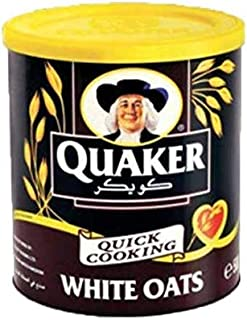 Quaker Oats Quaker Tins of White Oats Imported Product - 500 gm