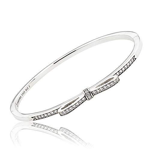 Pandora Brazalete Mujer plata - 590536CZ-2