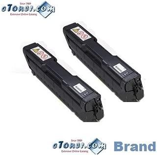 Ricoh SP C342DN 2 Black Toner Set eToner Brand