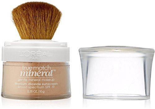 L'Oreal True Match Mineral Foundation, Nude Beige [460], 0.35 oz (Pack of 2)