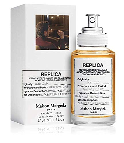 100% auténtico Maison Margiela Replica Jazz Club 30ml edt + 3 muestras de nicho - Gratis