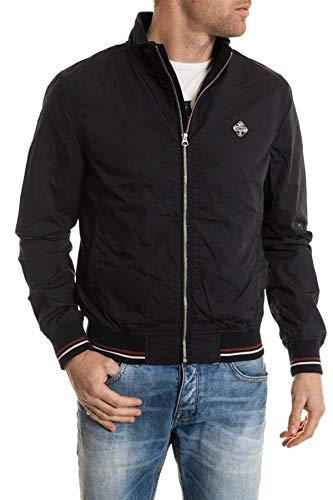 Schott nyc - blouson - manches longues - homme - Marine (Navy) - FR : Medium (Taille fabricant : M)