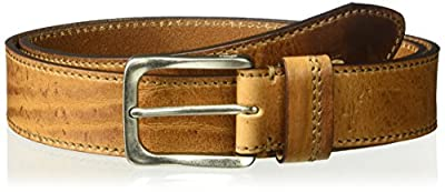 Tommy Bahama Men's 100% Leather Belt, tan, 36