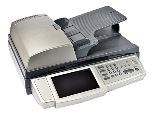 Xerox DocuMate 3920 Network Duplex ADF Fladbed Touch Screen LCD Scan to Email with LDAP Color Scanner with 600 DPI Email Folder Fax and FTP Functionality (XDM39205D-WU)
