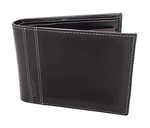 Charro heren portemonnee van leer met klep en muntvak 973292.310 12 x 9 x 4 cm