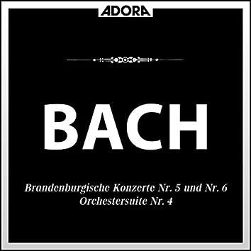 Brandenburgische Konzerte No. 5 und 6, Orchestersuite No. 4
