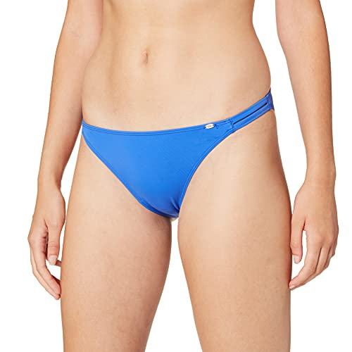 Skiny Damen Ocean Vibe Brasiliano Bikinihose, Blau (Ultra Marine 1963), (Herstellergröße:38)