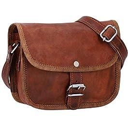 Gusti Nature sac à bandoulière – Mary XS sac à main cuir femmes sac a bandouliere sac en cuir marron