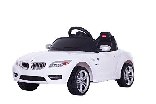 Rastar BMW Z4 Weiss Kinderauto Elektroauto Kinderfahrzeug Kinder Auto Spielzeug mit Fernbedienung RC