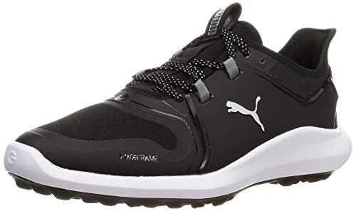 PUMA Ignite FASTEN8 WMNS, Chaussure de Golf Femme, Noir Black White, 38 EU