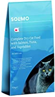 Food for adult Cats: 100% Complete and Balanced Nutrition Developed by pet nutritionists and checked by veterinarian Meat and animal derivatives: ca. 28% (derived from animals fit for human consumption) Fish and Fish derivatives: ca. 8% (derived from...