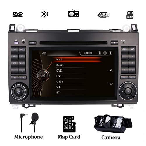 günstig Autoradio für Mercedes Benz Sprinter, Viano, Veet, A-W169 mit DVD-Player, GPS-Navigation,… Vergleich im Deutschland