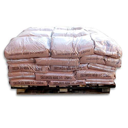 ARTIMESTIERI - Cocciopesto Rosso in polvere per Intonaci, Malte e Intonachino - sacco da 25kg - 0-1 mm