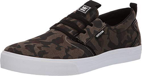 Supra Men's Flow Shoes,9,Camo-White