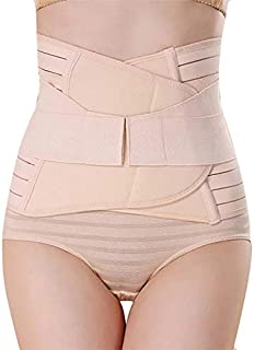 PLUMBURY® Postpartum Post Pregnancy Recovery Waist Trimmer Tummy Control Shapewear Belt, Free Size