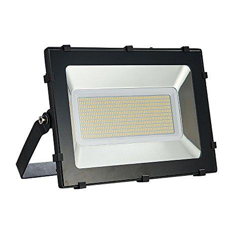 Viugreum Faro TOP DELLA GAMMA 300W Fari LED Lampade per Esterni, Impermeabili, 36000LM, LUCE BIANCA CALDA SOFFUSA (2800-3200K), Lampada Potente Risparmio Energetico Faretto per Giardino