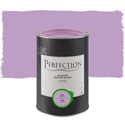 Perfection Einanstrich - Innenwandfarbe - Matt - 85 Orchidee - 1L - 12m²