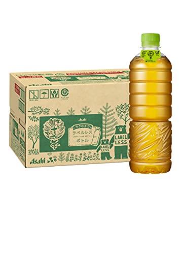 アサヒ飲料 十六茶 630ml ラベルレスボトル 1箱 24本