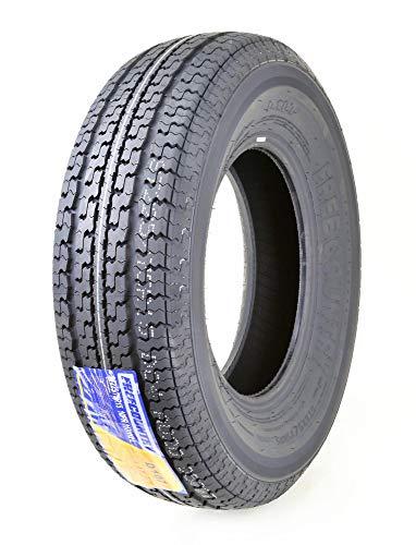 One Premium FREE COUNTRY Trailer Tire ST225/75R15 Radial 10PR Load Range E w/ Featured Scuff Guard