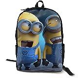 Despic-able Me Mochila para hombres y mujeres, mochila escolar informal