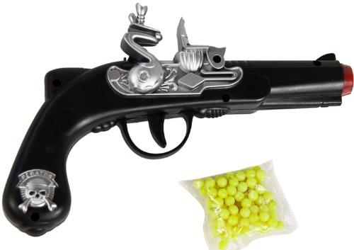 Nerd Clear Softair Waffe in Piraten Pistolen Form