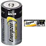 Energizer 636107 Industrial/Disposable C Battery (Pack of